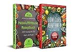 Heissluftfritteuse Rezeptbuch + Low carb Abnehmen für den Zauberkessel Box Set:: 220 Rezepte für den Airfryer &  200 Low Carb Rezepte für den Zauberkessel (1)