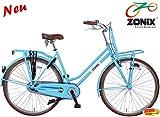 Zonix Damen Transportrad 28 Zoll Blau 3 Gang