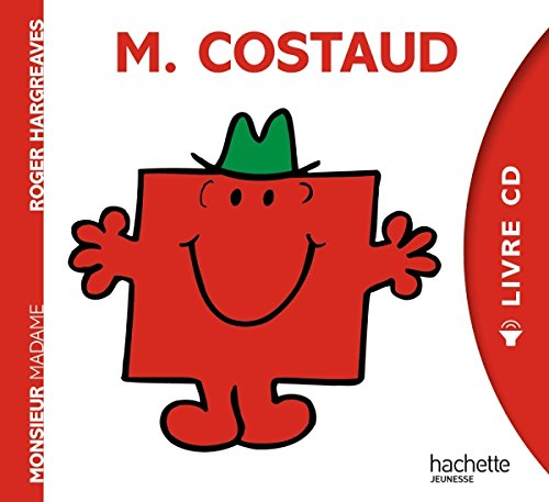 Monsieur Madame - Livre CD - M. Costaud