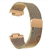 TRUMiRR Pour Asus ZenWatch 3 Bracelet de Montre, Milanese boucle de montre bracelet en acier inoxydable Bracelet de poignet de sport pour Asus ZenWatch 3 WI503Q 1.39 pouces Smartwatch