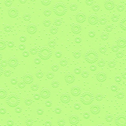 Dinner Prägeservietten Moments - uni mint green - geprägt 40 x 40cm