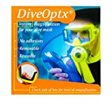 Lenti Adesive per Presbiti per Maschere di Subacquee - Snorkeling - Sci -Protezione - Occhiali da Sole / Hydrotac DiveOptx LHD (+1.00D)