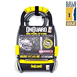 Onguard Pitbull Dt 8005 Bike Lock & Cable (Sold Secure Gold)