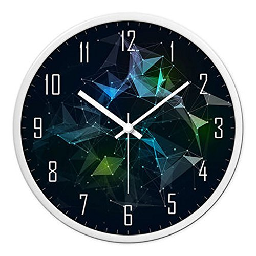 horloge murale CivilWeaEU- Ocean Hearts Series Horloges Wall Clocks Salon Creative Horloges Modernes Quartz Montres Horloges Montres Chambre Mute Individualité