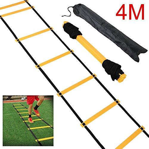 Yahee Fußball Koordinationsleiter Trainingsleiter, Ladder für Fußball 4M /6M /8M