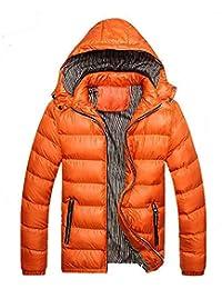 Amazon.it  Arancione - Giacche e cappotti   Uomo  Abbigliamento 17ae99b446f