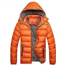 BBestseller Sweatshirts de Invierno Cremallera Acolchado Chaqueta Abrigo Corto de Algodón Desmontable Encapuchado de Manga Larga