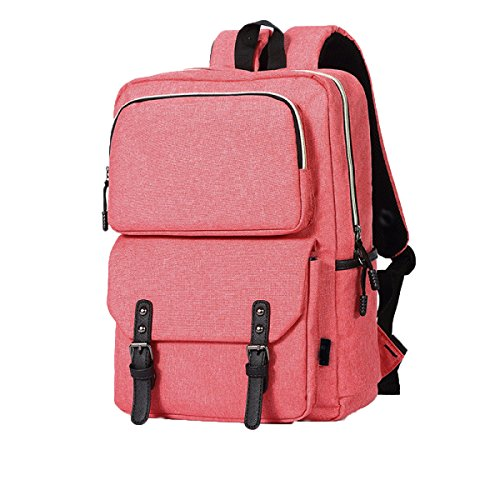 FZHLY Leisure Travel Bag Studenti Di Grande Capienza,LightGreen Pink