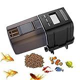 JunBo Futterautomat Aquarium Automatische Futterautomat Fisch mit LCD Bildschirm für Aquarium, Fisch Tank und Schildkröten Tank