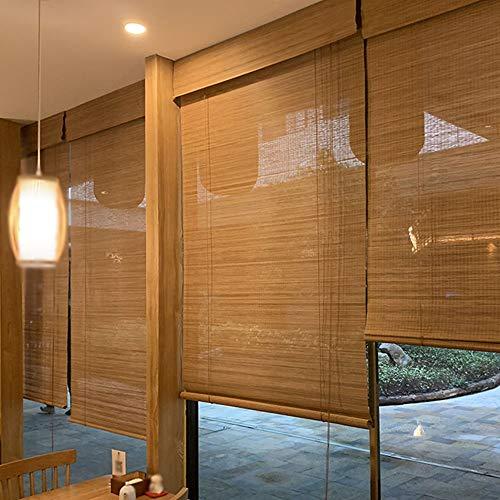 CXF wasserdichte Bambus Rollo, Chinesische Sonnenschutz/Hebe Rollladen, Geeignet FüR TüRen Und Fenster/Partition/Hintergrund Wand, Kann Angepasst Werden (36