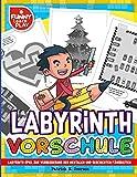 Labyrinth Vorschule: Labyrinth Spiel zur Verbesserung der mentalen und geschichten Fähigkeiten (Labyrinth Rätsel für Kinder, Band 1) - Patrick N. Peerson