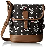 #5: Kanvas Katha  Women Sling Bag (Black)(KKRTRI005)