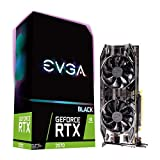 EVGA GeForce RTX 2070 BLACK EDITION GAMING, 8GB GDDR6, ventilatori doppi HDB, scheda grafica 08G-P4-1071-KR