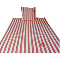 Scapa Sports.- Funda nordica Red Stripes para cama de 90 cm en medida 140x220 cm