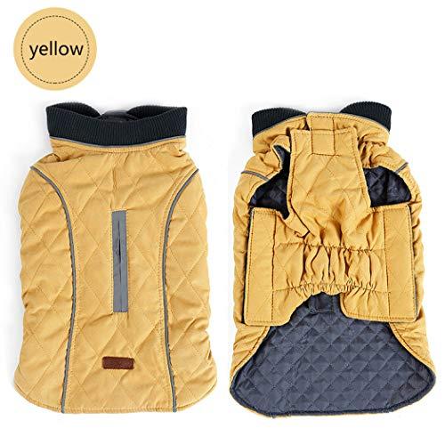 AMURAO Winter Warme Haustierkleidung Retro Hundemantel Wasserabweisende Haustierjacke Weste Gemütliche Haustierausstattung Große Hunde Produkt