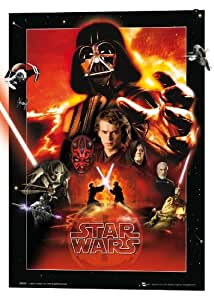 GB eye Ltd Affiche 3d Format A3 Star Wars, Villains 29,7 x 42 cm