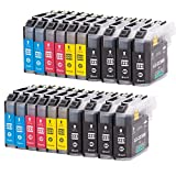 check out 7b9d1 db828 Set of 20 Ink cartridges compatible for Brother LC-223 10ml per color 20ml  Black