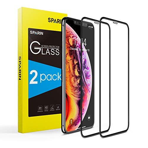 SPARIN [2-Pack] Protector Pantalla iPhone XS/X