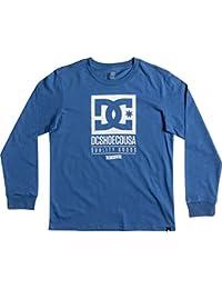 DC Washed Indigo Keep Rolling Kids Long Sleeved T-Shirt