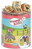 Unbekannt Aladine 3003311 - Stampo Kids Lili auf dem Bauernhof, 16-teilig