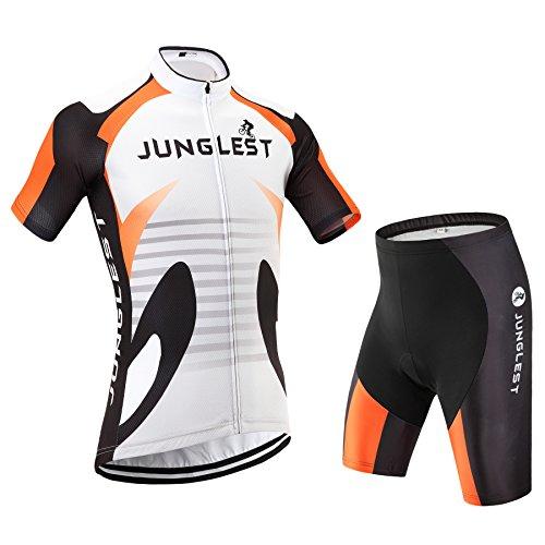 Maillot de Cyclisme Homme Manches Courtes jersey(S~5XL,option:Cuissard,3D Coussin) N6