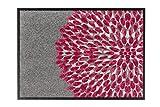 Fußmatte Schöner Wohnen Broadway Blume Pink in 2 Größen