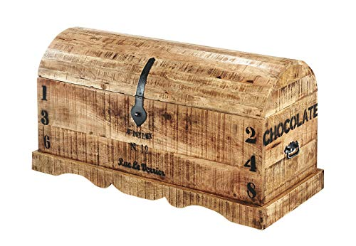 Kobolo Robuste Truhe im Antiklook aus FSC zertifiziertem Holz