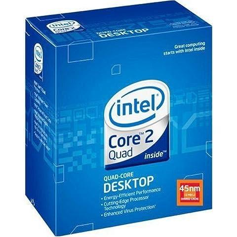 Intel Core 2 Quad Q9550 - Procesador (Intel Core 2 Quad, Socket T (LGA 775), Intel Core 2 Quad Q9000 series for Desktop, L2, 37.5 x