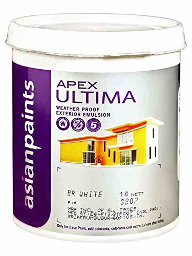 ASIAN PAINT APEX ULTIMA IN WHITE COLOUR 1 LTR