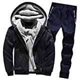 Luckycat Herren Strickjacke Cardigan Beiläufige DünneStrickpullover mit Kapuze Kapuzenpullover Pullover Männer Hoodie Winter warme Fleece Zipper Sweater Jacke Outwear Mantel
