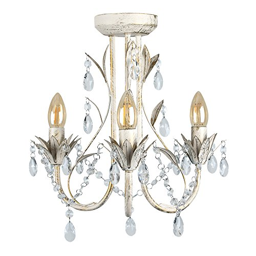 traditional-style-distressed-white-shabby-chic-3-way-ceiling-light-chandelier-fitting-with-decorativ
