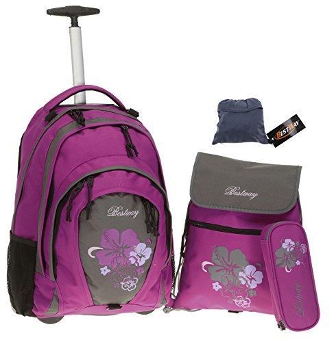 Bestway , Zaino , Flower / Violett (Rosa) - 80115-2217