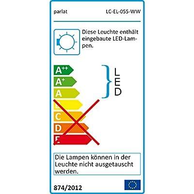 parlat LED Pflasterstein, IP67, 5 Stück, 10 x 10 cm, warmweiß LC-EL-055-WW-x5 von parlat - Lampenhans.de