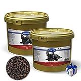 Lyra Pet Dog 2 x 4 kg Soft Strauß im Eimer High Premium Hundefutter + Geschenk