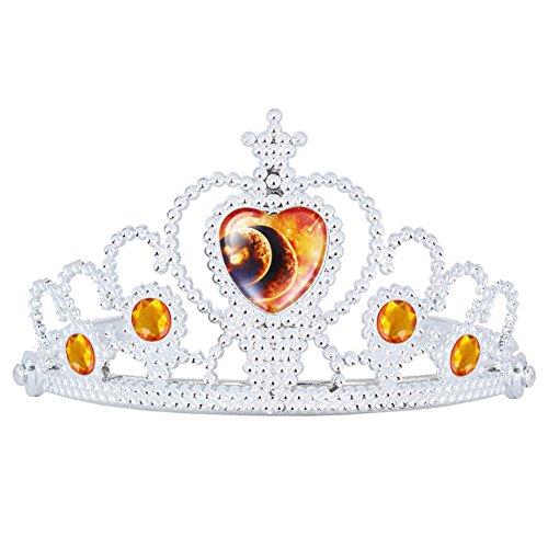 Das beste Unisex Tiara für Abschlussbälle Festzüge Princess Party Krone Geburtstag-Interstellar Himmel (Königin Der Schwerter Erwachsenen Kostüme)