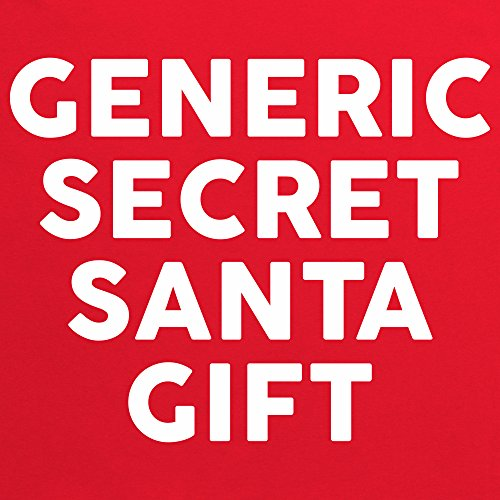 Generic Secret Santa Gift T-Shirt, Herren Rot