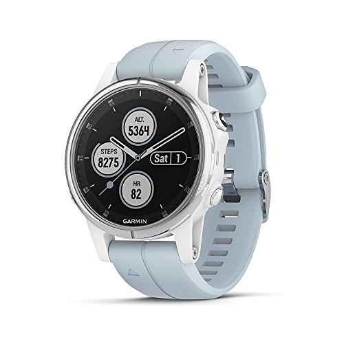 Garmin Reloj GPS multideporte exterior azul lago (Fenix 5S Plus)