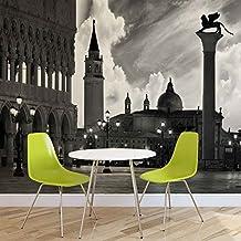 Città Venezia San Marco foto carta da parete Immagine di sfondo (337fw), TESSUTO NON TESSUTO (EasyInstall), XXL - 312cm x 219cm