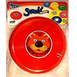 Super Bright Red Cartoon Frishbee