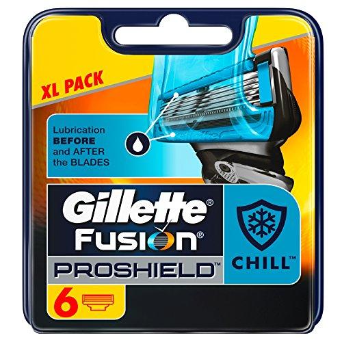 Gillette Fusion Proshield Flexball Chill Cuchillas