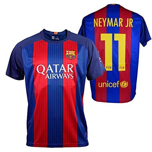 FC Barcelona. Camiseta 1ª Equipación Adulto 2016-2017, Réplica Oficial NEYMAR. Talla M