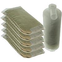 Spares2go - Filtros antical de recambio para central de vapor Morphy Richards 42234 42238 42243 (6 recambios y cartucho)