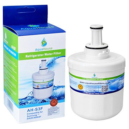 AquaHouse AH-S3F kompatibel Wasserfilter für Samsung Kühlschrank DA29-00003F, HAFIN1/EXP, DA97-06317A-B, Aqua-Pure Plus, DA29-00003A, DA29-00003B