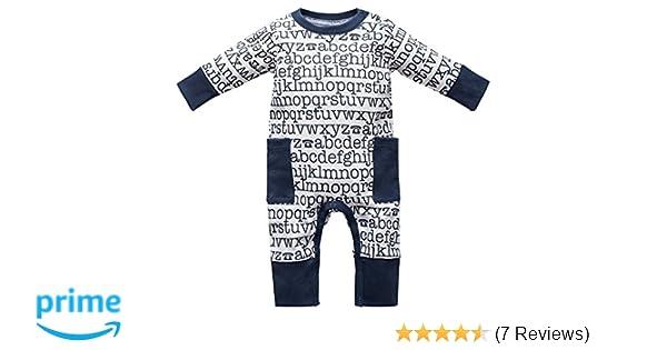 Baby Strampler Schlafanzug Größe 0-24 Monate ABC