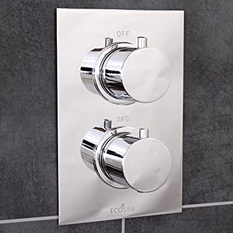 Concealed Thermostatic Shower Mixer Valve Chrome | 1 Outlet |