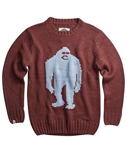 Airblaster OG Sassy Sweater mahogany Airblaster Pullover