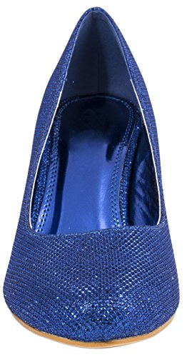 Elara - Scarpe con plateau Donna Blu (blu)