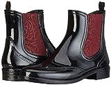Mustang Damen 3121-501 Gummistiefel, Schwarz (95 Schwarz/Rot), 38 EU -