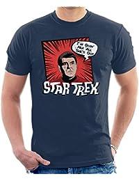 Cloud City 7 Star Trek Scotty Comic Style Men's T-Shirt