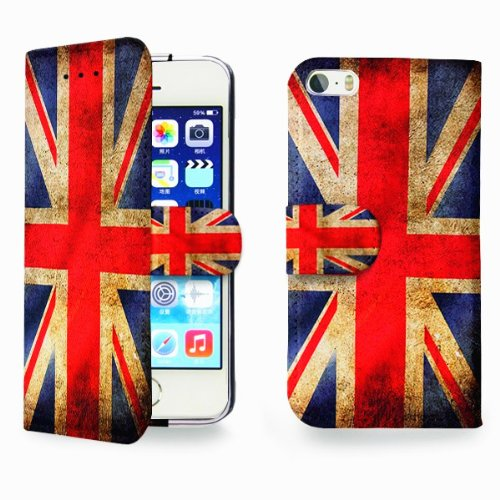 Distressed Union Jack Flag Case for iPhone 5/5C